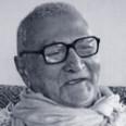 Srila-Sridhar-Maharaj-Smiling-Blue-Duotone